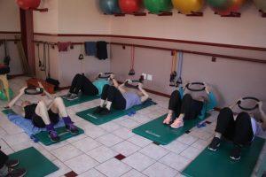 Exercises on back Aqua Dynamics