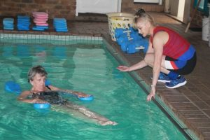 Water Based Exercises with Instructor Aqua Dynamics