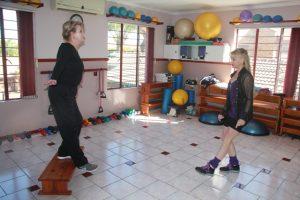 Ankle Stretches and Balance Aqua Dynamics